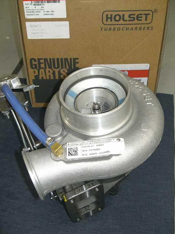 Komatsu PC220-7 turbocharger
