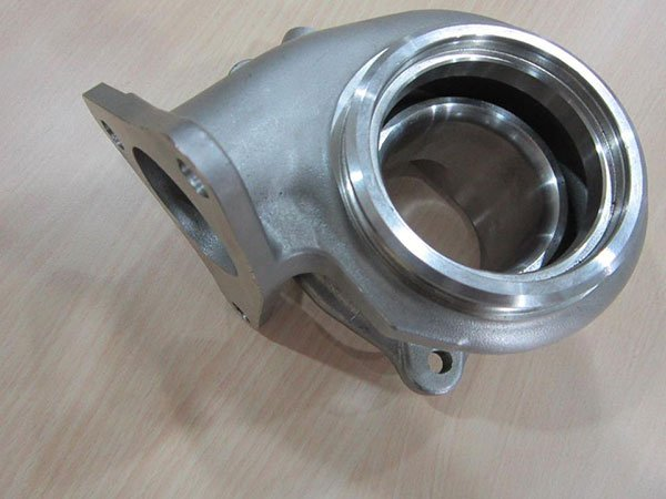 Subaru stainless exhaust housing