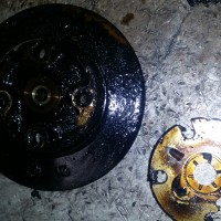 Oil Coking due to lack of service