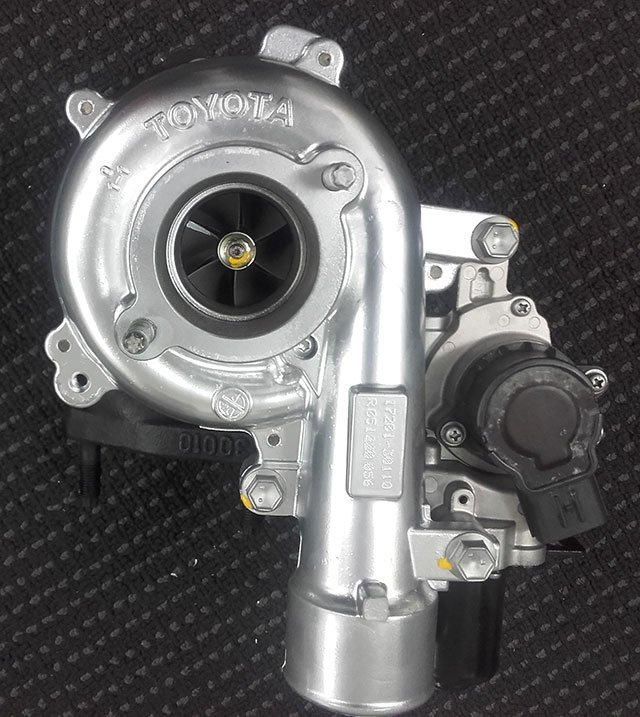 Exchange Toyota Hilux 1KD Turbocharger