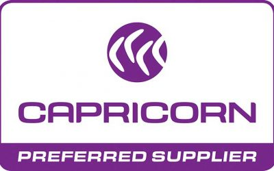 We are now a Capricorn preferred supplier!