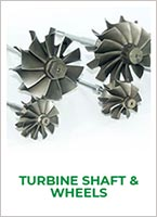Jrone turbocharger systems turbine shaft wheels