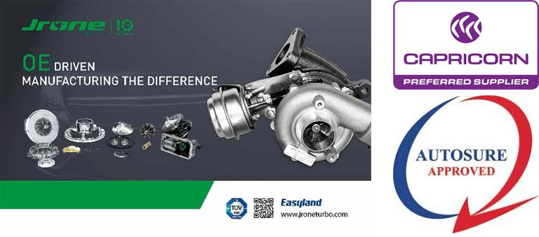 Passenger light commercial turbochargers Sales